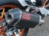 Modifikasi KTM Duke 200 Full Powerparts