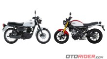 Komparasi Spesifikasi Yamaha XSR155 vs Kawasaki W175, Lebih Retro Mana?