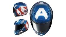 Unik, Produsen Helm HJC Buat Motif Captain America