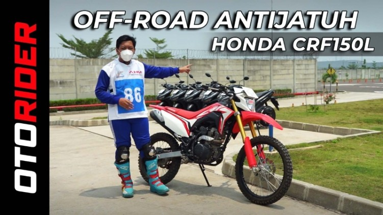 VIDEO: Cobain Sirkuit Off-Road AHM Safety Riding Park | Indonesia | OtoRider