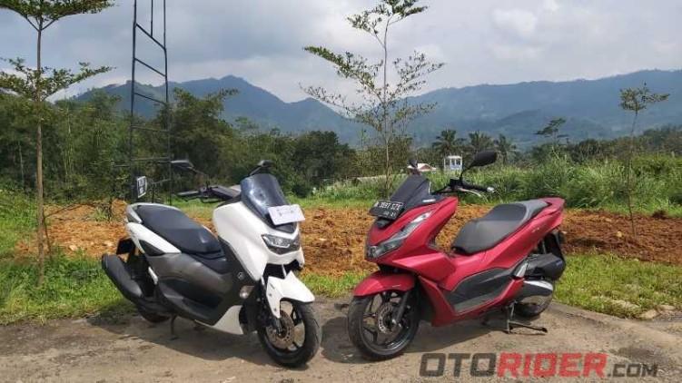 Perbandingan Harga Terbaru Honda PCX 160 dan Yamaha NMax 155