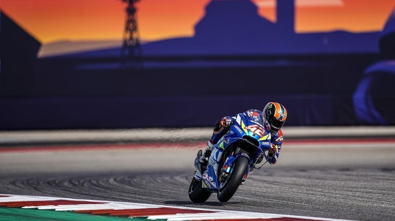 Alex Rins, GP Austin 2019