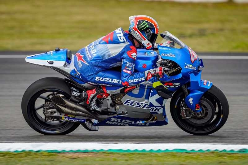 Alex Rins Sepang Test