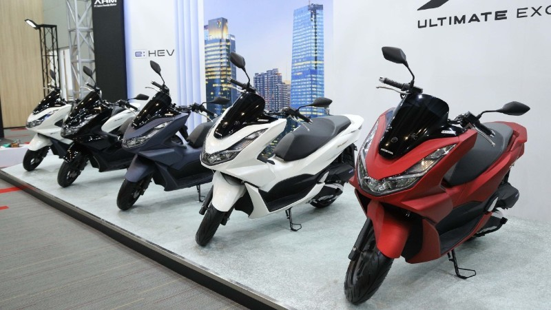 All New Honda PCX dan PCX e:HEV 2021