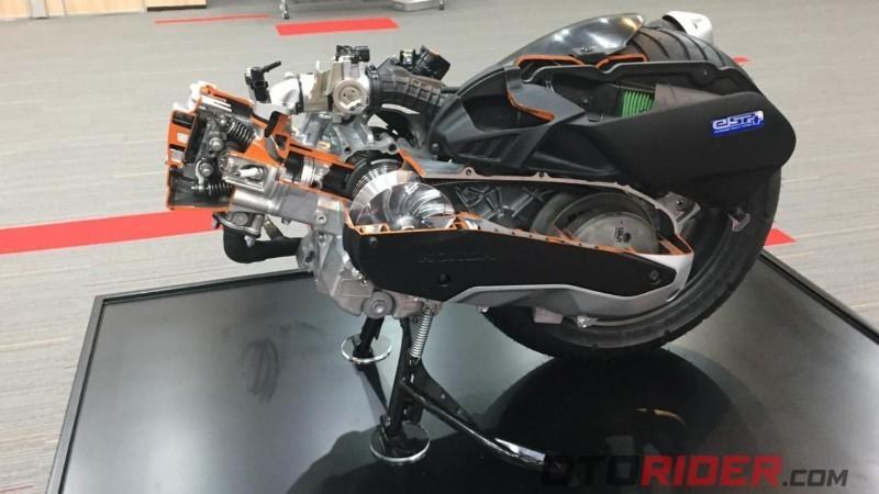 All New Honda PCX e:HEV 2021