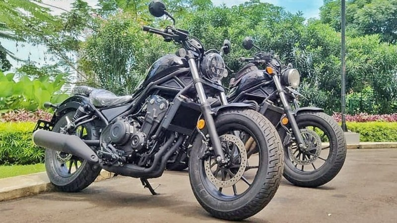 All New Honda Rebel 2020