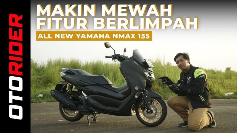 All New Yamaha NMax 155 2020 Test Ride Review | OtoRider