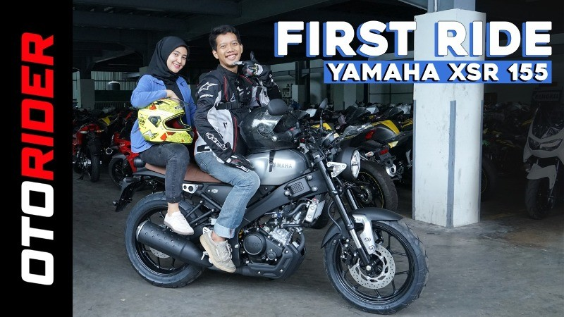 All New Yamaha XSR 155 Indonesia | First Ride | OtoRider