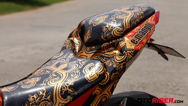 ARM Modifikasi Kawasaki Ninja 250 Batik