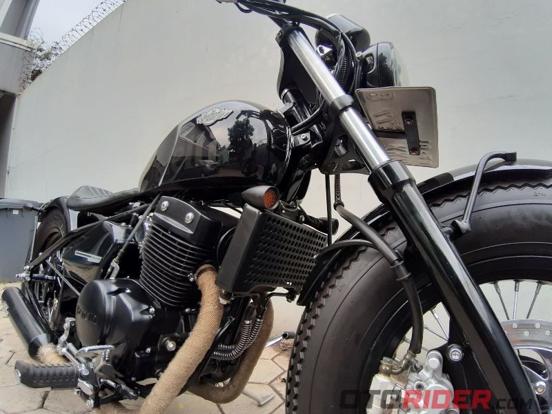British Bobber Katros Garage