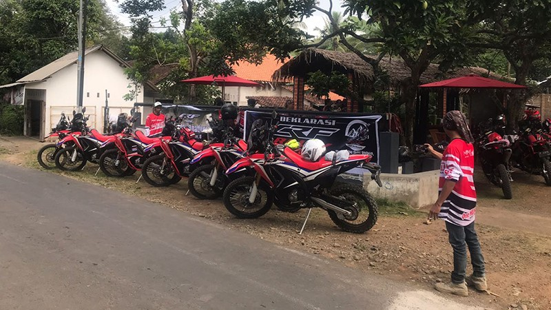 CRF Rally Jatim Touring 2