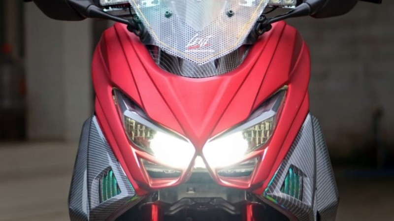 Front panel Nmax