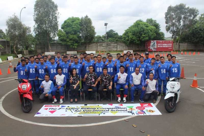 Kompetisi Safety Riding Wahana Honda