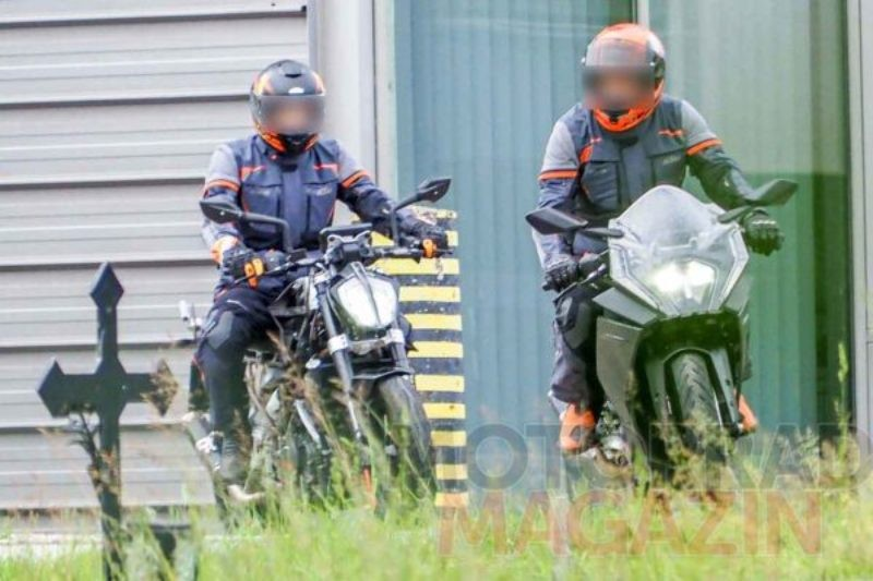 KTM RC 390 Spy Shot