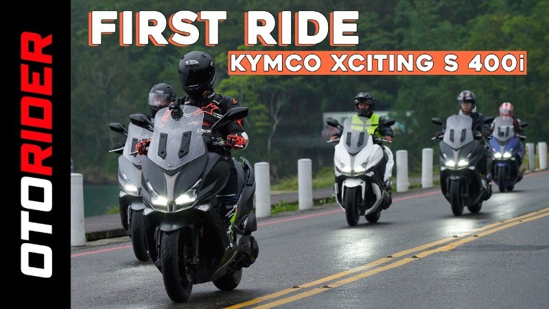 Kymco XCiting S 400i 2019 First Ride Review - Indonesia | OtoRider