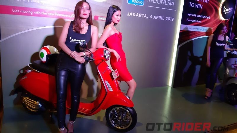 Launching Vespa Primavera S dan Sprint S 150 Abs