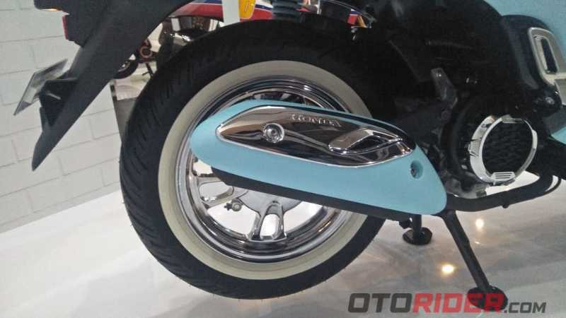 Modifikasi All New Scoopy Fashionable