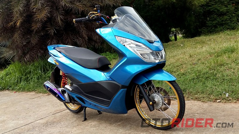 modifikasi honda pcx