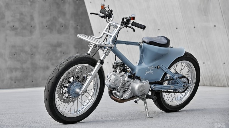 Modifikasi Honda Super Cub