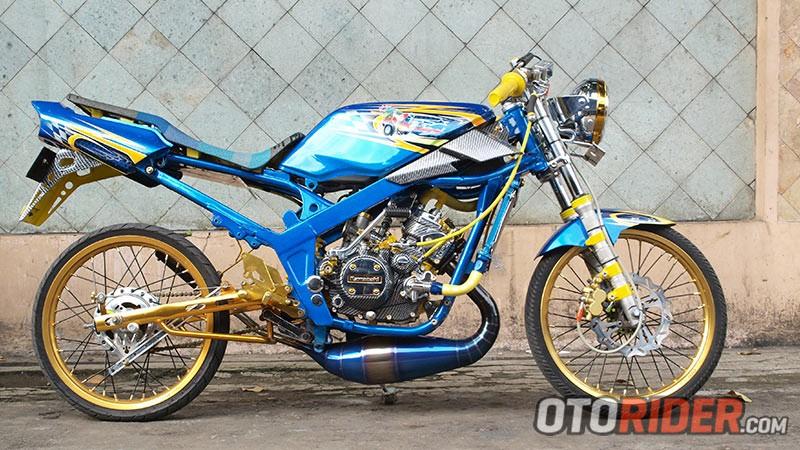 Modifikasi Kawasaki Ninja R 150 Herodion Argha Solo