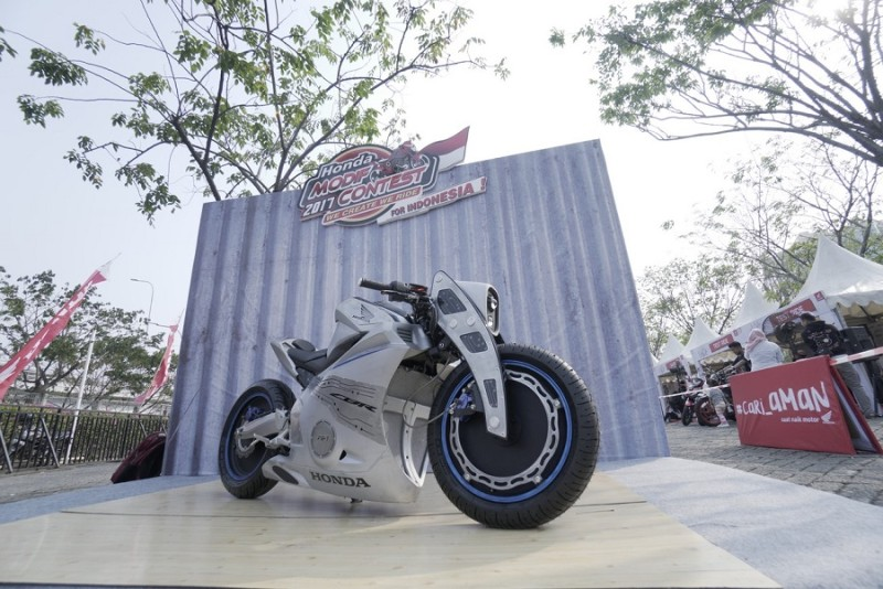 Modifikasi Motor Honda