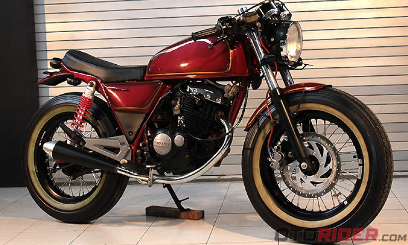 Thunder 125 Cafe Racer