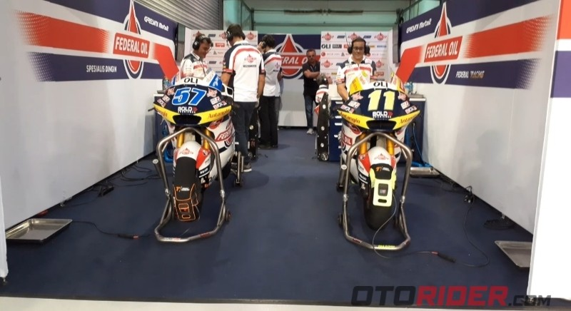 Moto2 qatar federal oil gresini
