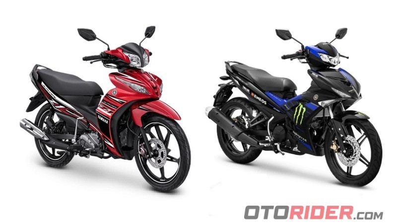 Motor Bebek Yamaha 2020 (MX King, Jupiter Z, Vega Force, Jupiter MX)