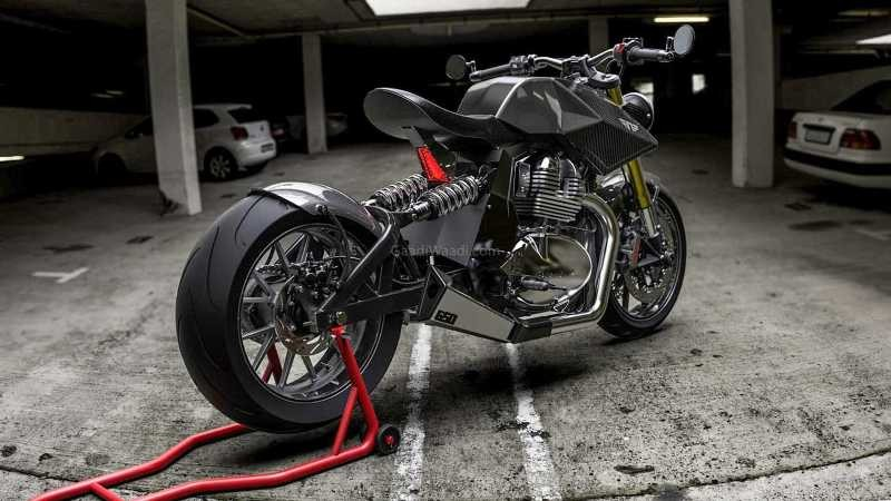 Neev Motorcycle's Y2 Interceptor 650
