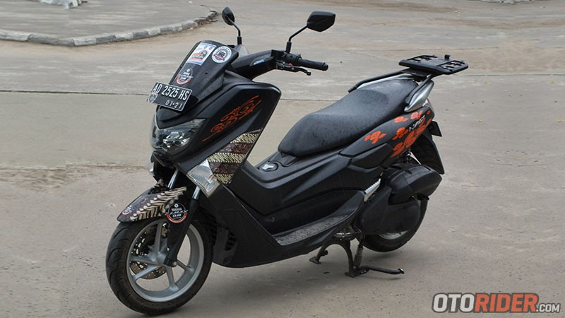 Modifikasi Yamaha NMax Septia Solo