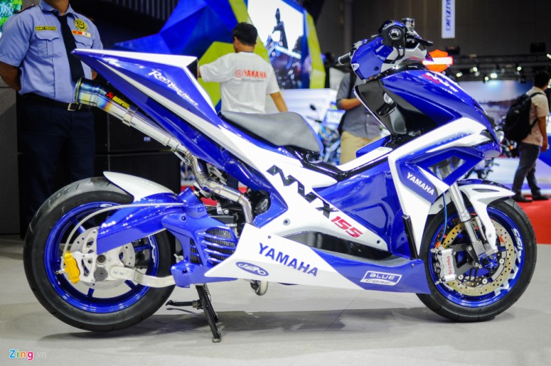 nih modifikasi yamaha aerox vva  racing