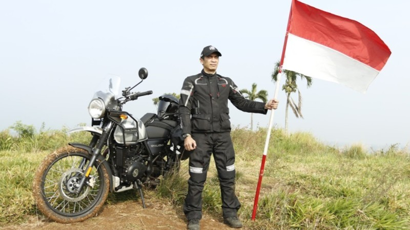 Robinson Journey, Royal Enfield, Touring