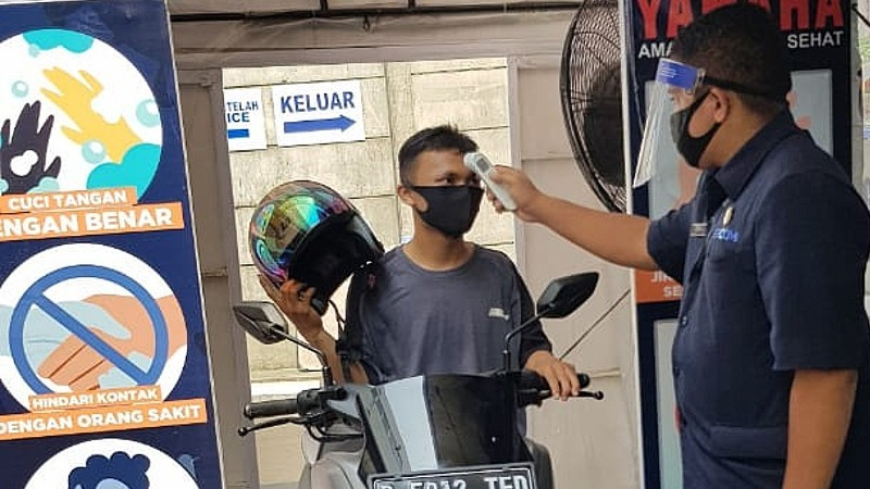Servis Yamaha New Normal