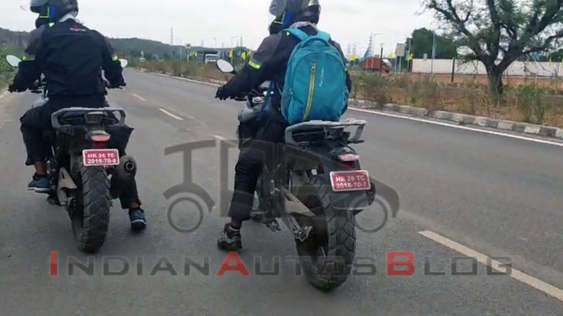 Spy Shot BMW G310GS