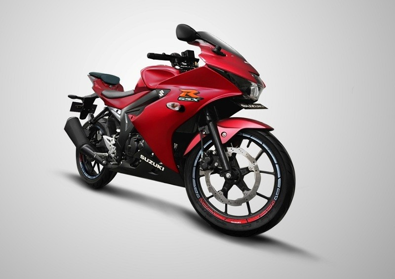 Suzuki GSX R150 Matt Red