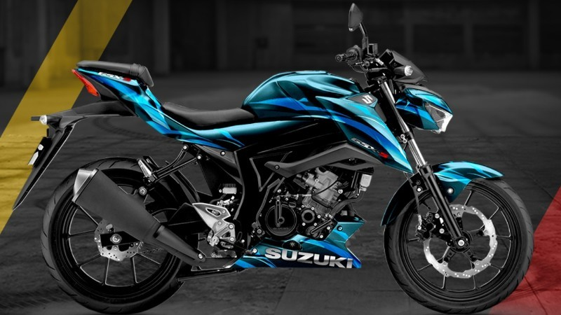 Suzuki GSX-S150 Digital Modifikasi