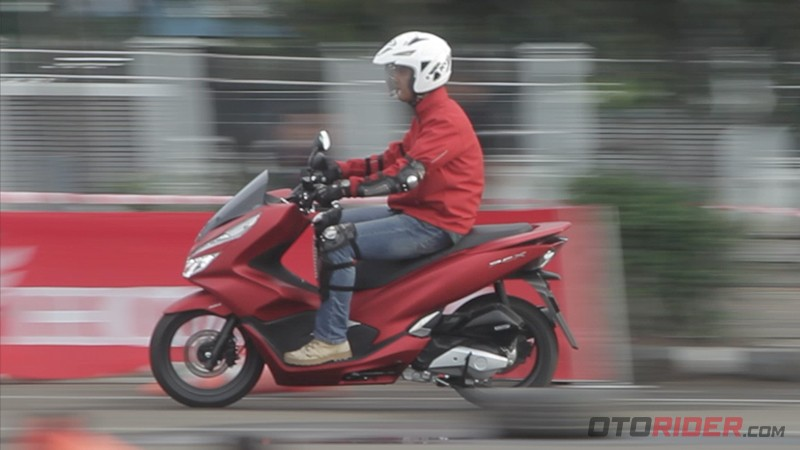 Test Ride All New Honda PCX 150