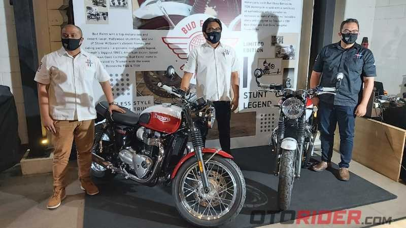 Triumph Launching Bonneville Bud Ekins, New Tiger 900, Rocket 3 R