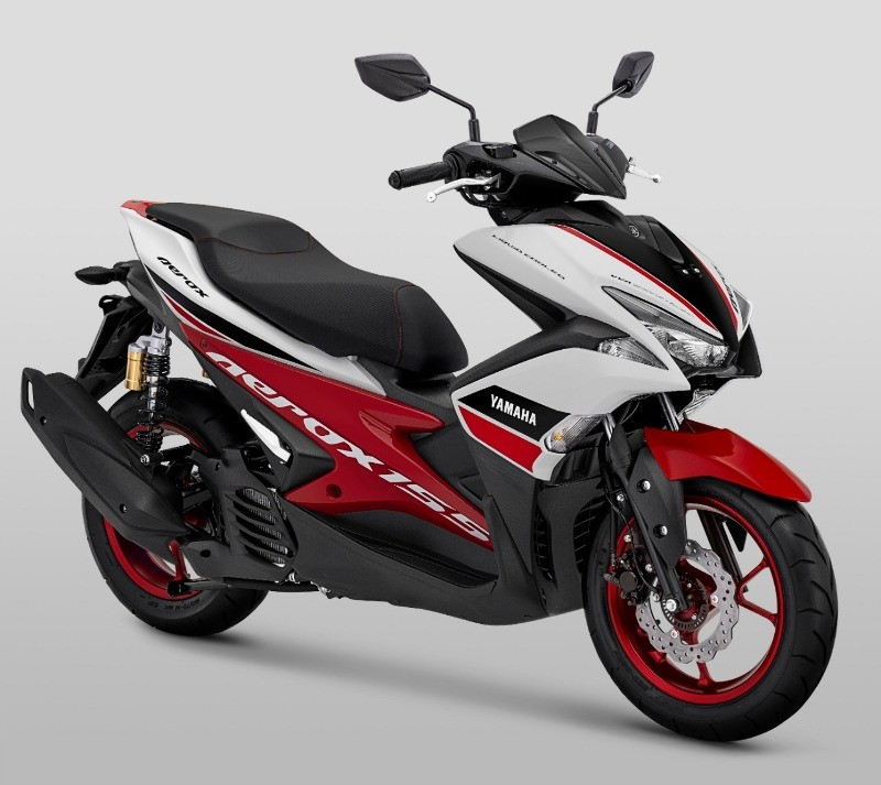 Warna Baru Aerox 155 VVA R-Version