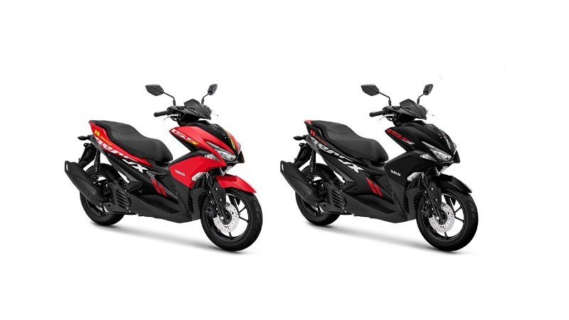 Warna Baru Aerox 155 VVA Standard Version
