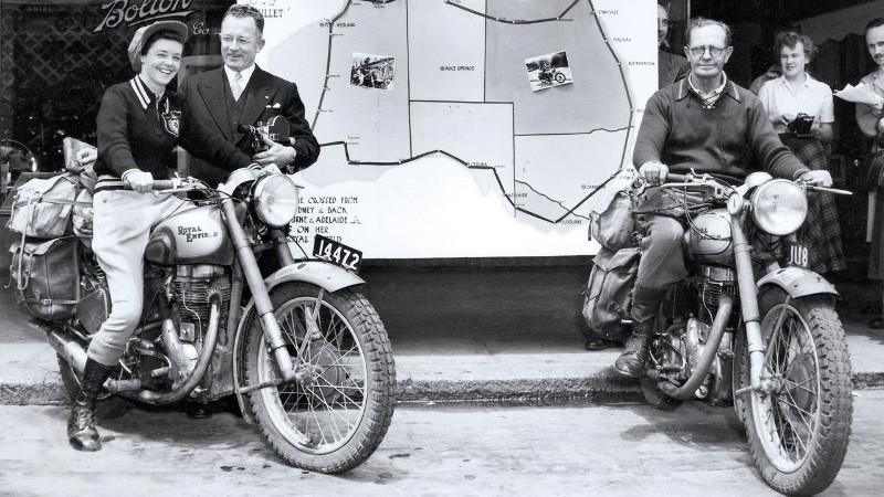 Winifred Wells/ Royal Enfield