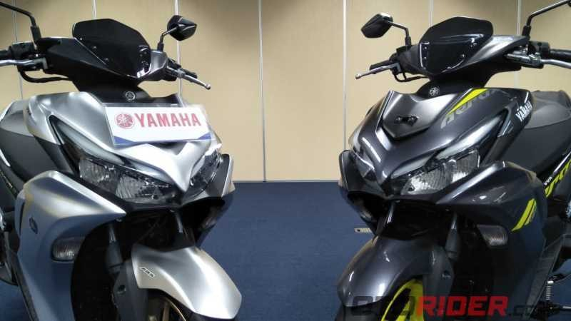 Yamaha All New Aerox 155 Connected/ Aerox 155 Baru