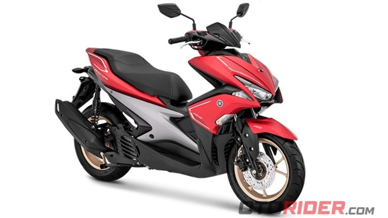 Yamaha All New Aerox 155 Connected dan Aerox 155 Generasi Sebelumnya